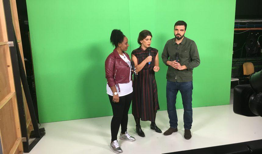 Battle de rap entre Salvador Martinha e Eva RapDiva