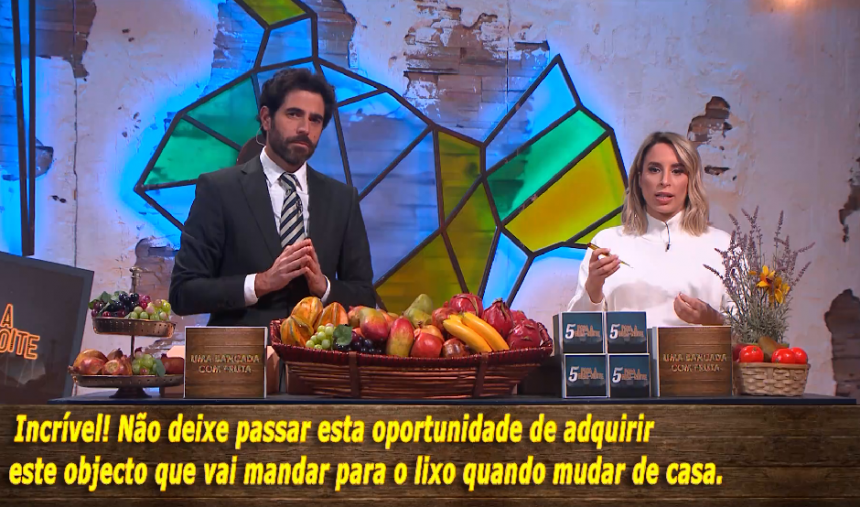 Uma Bancada com Fruta… com Helena Coelho