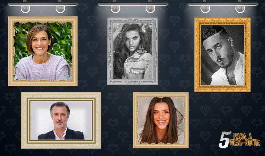 Fátima Lopes, Cotrim Figueiredo, Joana e Inês Aguiar e Pedro Mafama no 5 Para a Meia-Noite