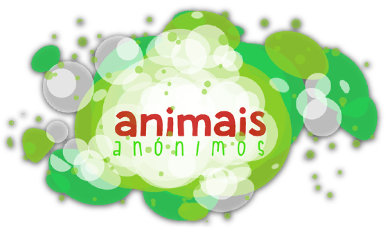 Log�tipo Animais An�nimos