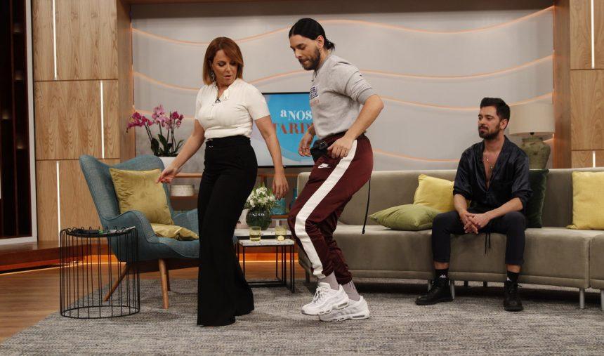 Tania Ribas dançou com Conan Osíris