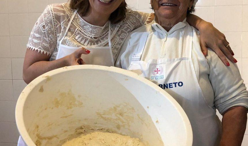 O dia em que Tânia foi aprender a fazer pão