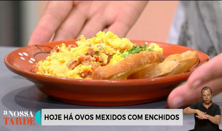 Irene Pimenta - Receita dos Ovos Mexidos com Enchidos e Coelho à Porcalhota ou Coelho