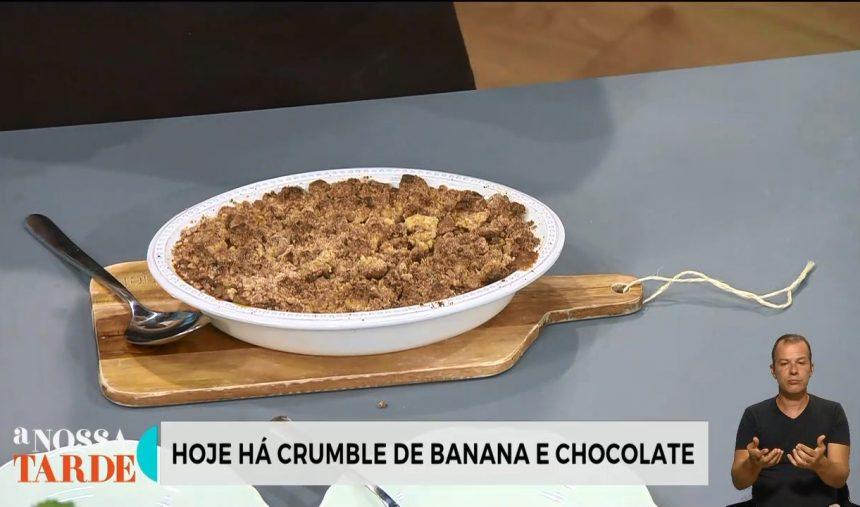 Sofia Magalhães – Receita do Gaspacho de Salada Velha + Crumble de Banana e Chocolate