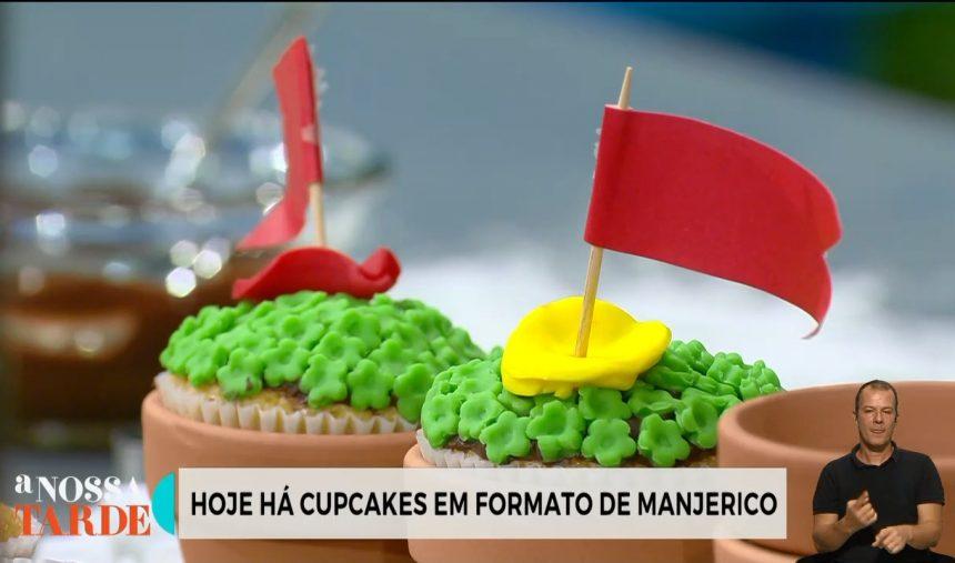 Rita Ribeiro - Delícias Com Detalhe - Receita dos Manjericos (Cup Cakes) + Lenço dos Namorados (Bolachas)