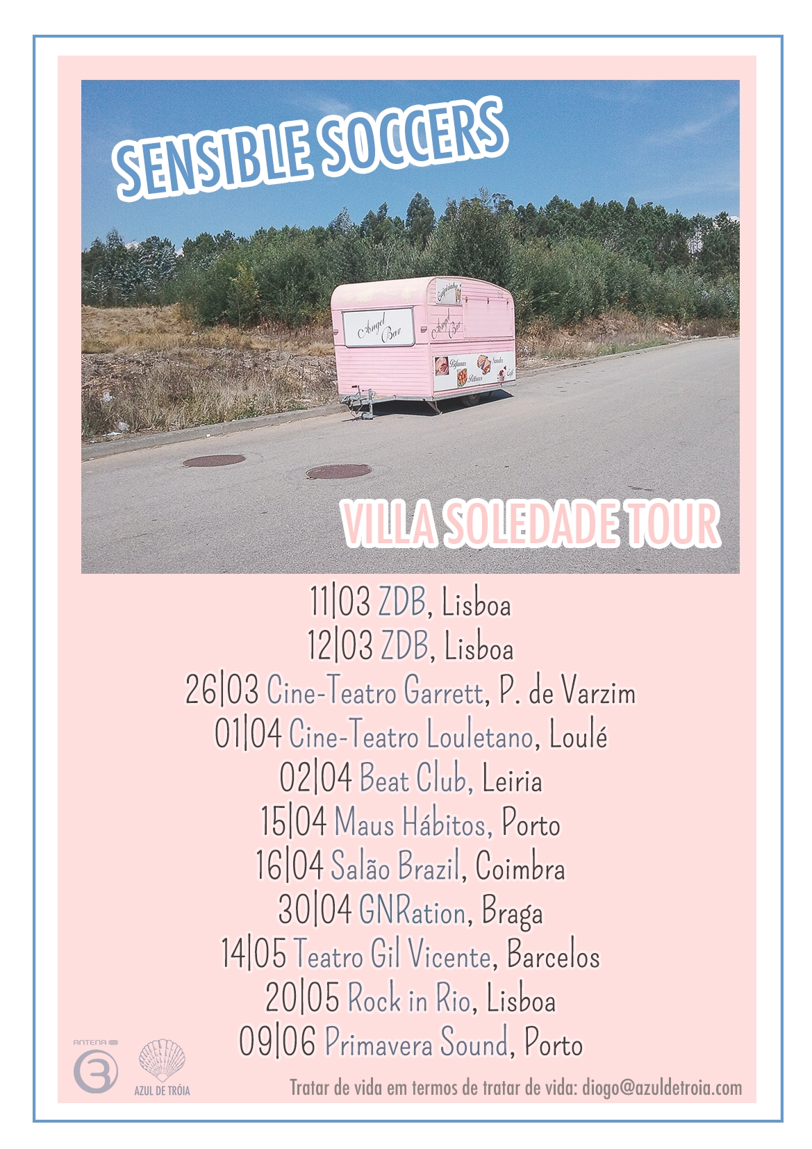 Sensible Soccers - Tour Villa Soledade (first leg)