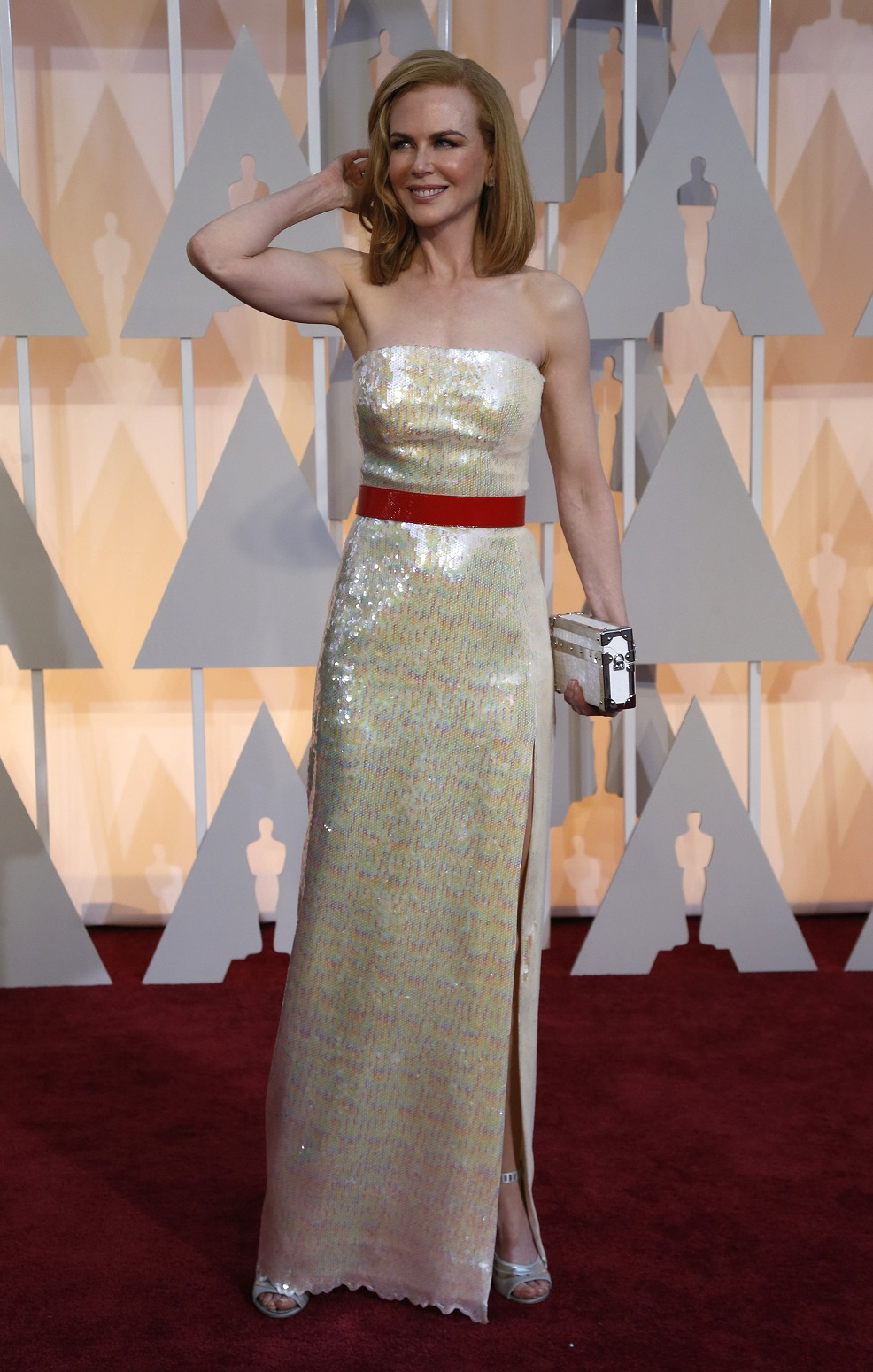 Actress Nicole Kidman arrives at the 87th Academy Awards in Hollywood