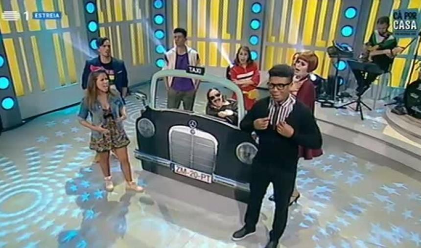 Zé Manel Taxista - Uma comédia com brilhantina -
