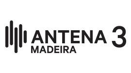 Antena 3 Madeira, monocromático, positivo
