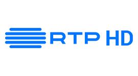 RTP HD. Horizontal, monocromático azul