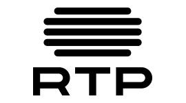 RTP versão reduzida . Vertical, monocromático positivo