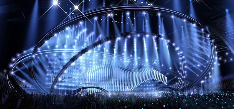 Florian Wieder é o designer do cenário do Festival Eurovisão da Canção
