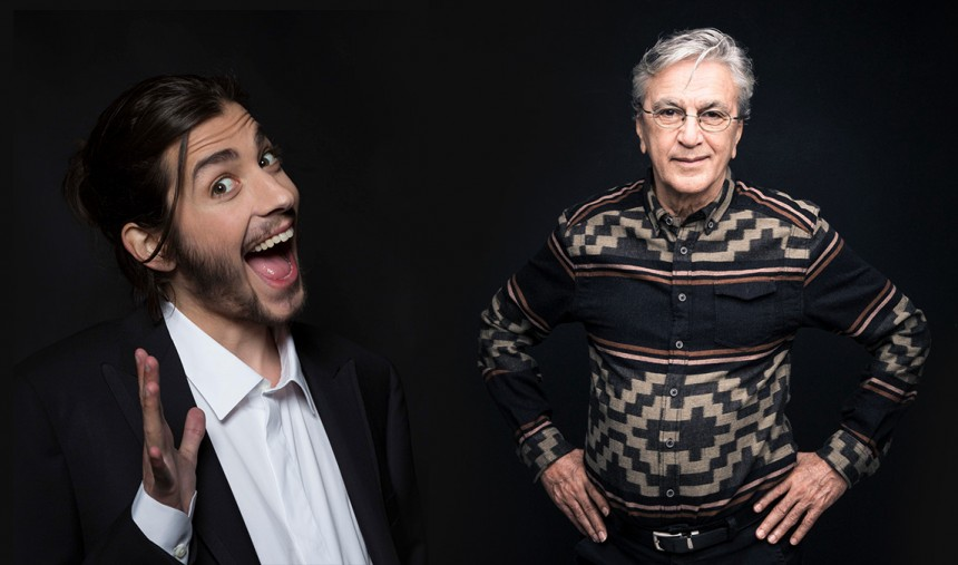 Caetano Veloso e Salvador Sobral atuam na Final do ESC2018