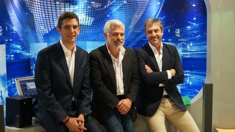 Vítor Gonçalves, Paulo Dentinho e Carlos Daniel