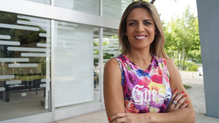 Sandra Felgueiras em entrevista