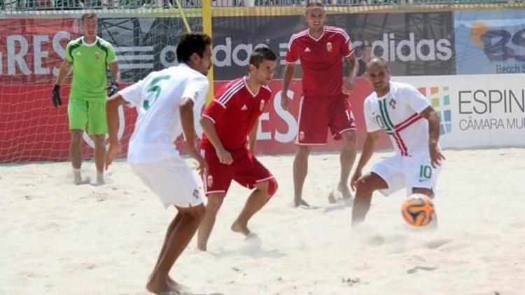 Futebol praia direto
