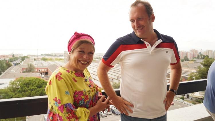 Maria Vieira e Eduardo Madeira
