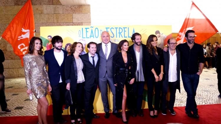 O elenco de O Leão da Estrela