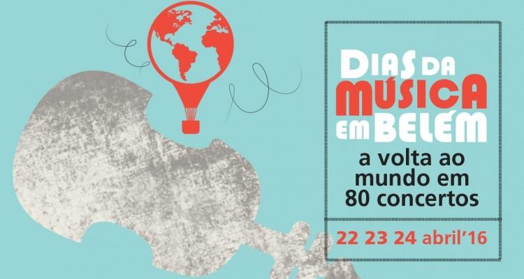 Antena2 e na RTP2 Dias da Música em Belém 2016