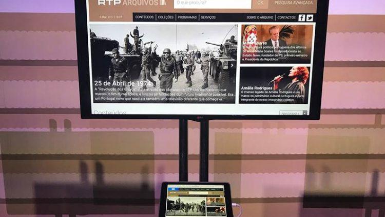 Novo site RTP Arquivos