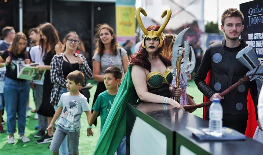 Segundo dia da Comic Con com convidados ilustres