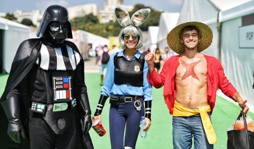 Comic Con chega ao fim com super estrelas