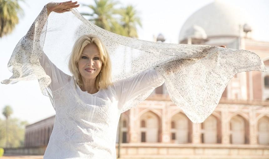 Joanna Lumley na Índia