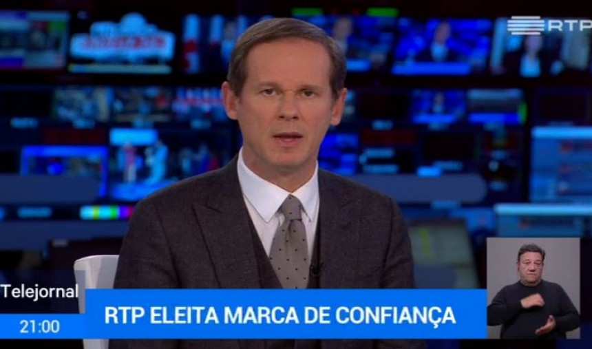 RTP eleita marca de confiança