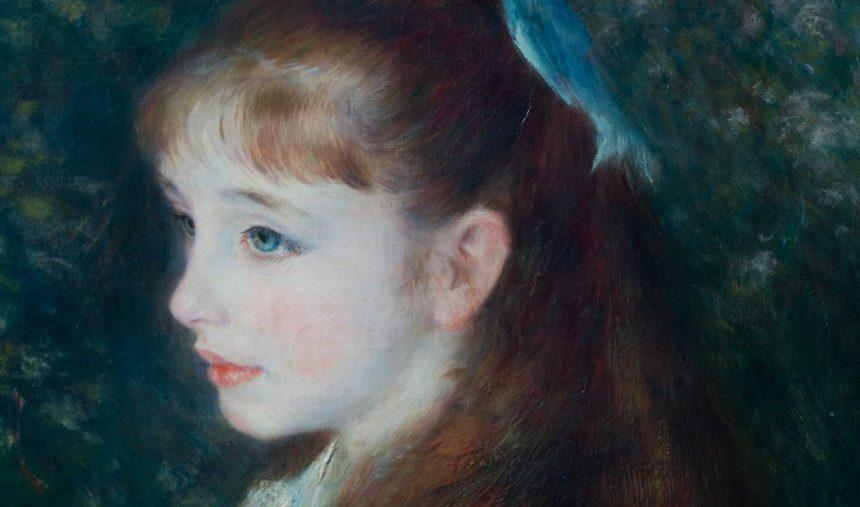 Renoir e a Menina com Laço Azul