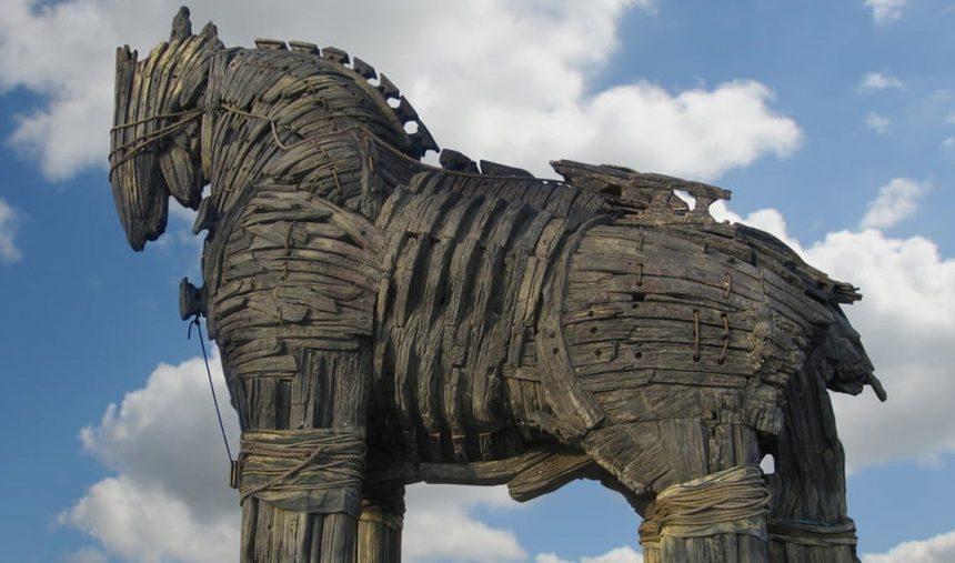 O Cavalo de Troia: No Rasto de um Mito