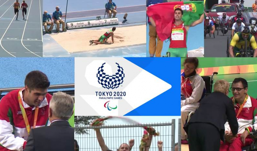 Jogos Paralímpicos Tóquio 2020 na RTP