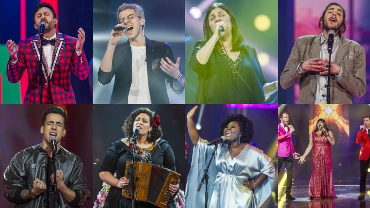 Vote na canção que quer que vença o Festival da Canção 2017
