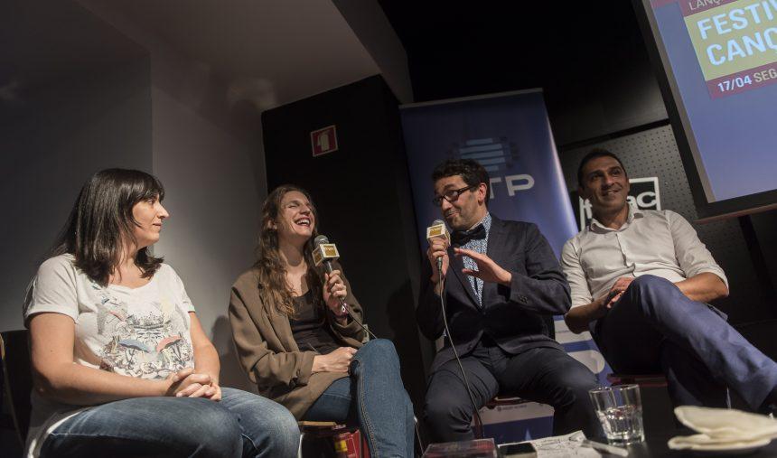 Entrevista de Salvador e Luísa Sobral em italiano