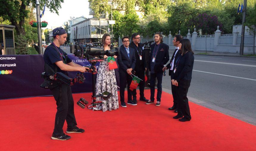 #KievSemFiltro - Dia 1: Street Art & Red Carpet da Eurovisão 2017