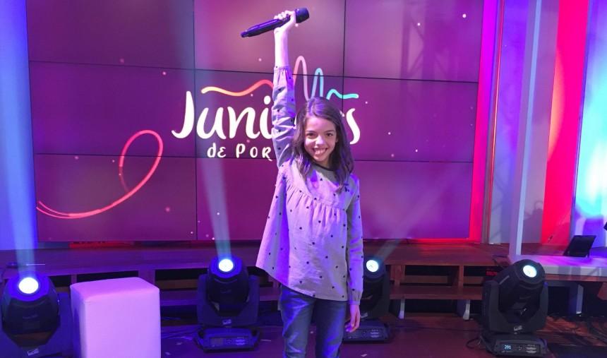 Mariana Venâncio é a representante de Portugal no Junior Eurovision Song Contest 2017