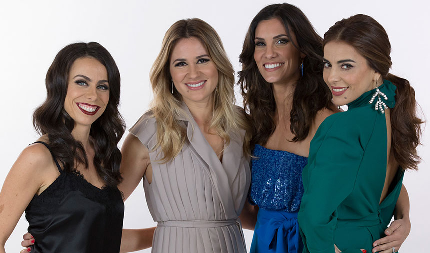 Daniela Ruah, Sílvia Alberto, Filomena Cautela e Catarina Furtado são as apresentadoras da Eurovisão 2018