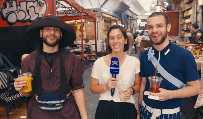 #Telelavive: Conan Osiris não teme a comida de Israel