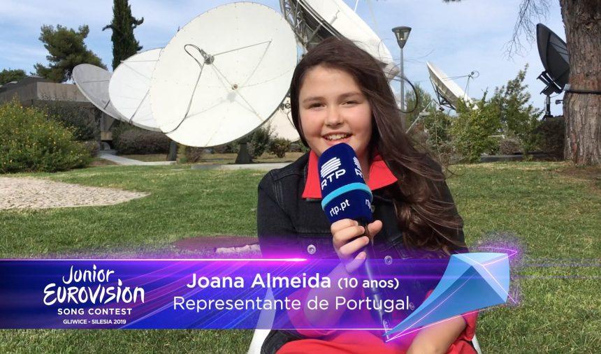 #JESC2019: Joana Almeida é a representante de Portugal na Eurovisão Júnior