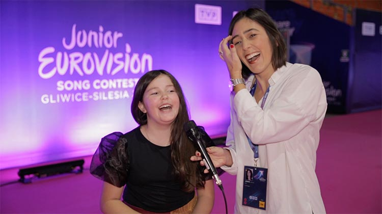 #JESC2019: Joana Almeida pela primeira vez no palco da Eurovisão Júnior