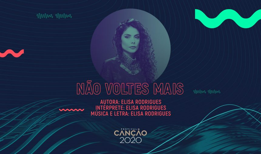 Elisa Rodrigues - Não voltes mais (Lyric Video)