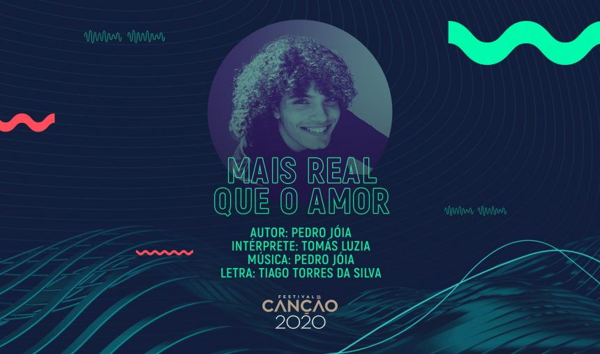 Tomás Luzia - Mais Real que o Amor (Lyric Video)
