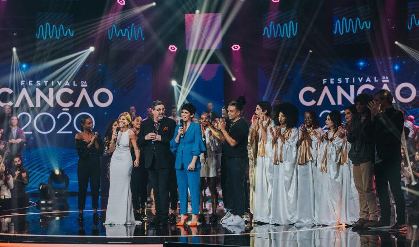 Estão apurados os finalistas da 2.ª semifinal do Festival da Canção 2020