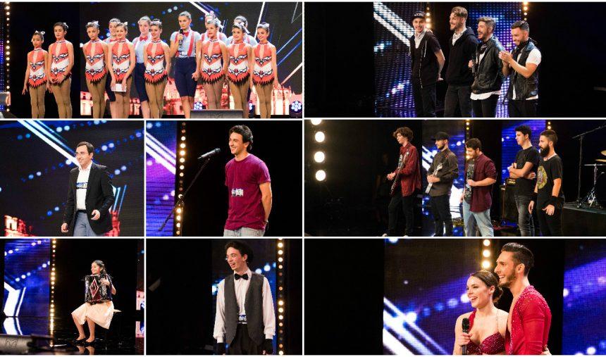 8 semi-finalistas da segunda gala