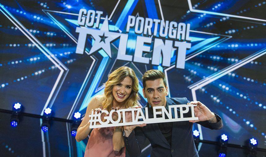 Sílvia Alberto e Pedro Fernandes: apresentadores do Got Talent Portugal 2017