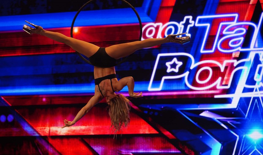Sara Shults trouxe a sensualidade ao Got Talent Portugal