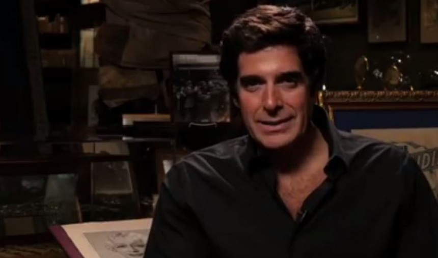 David Copperfield todas as semanas com Luís de Matos na RTP1