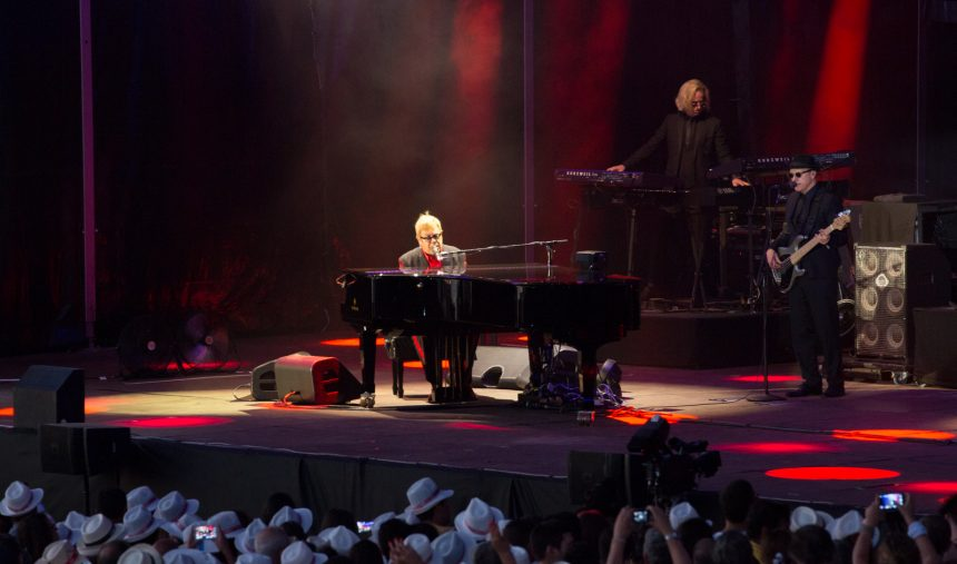 A noite do grande Sir Elton John
