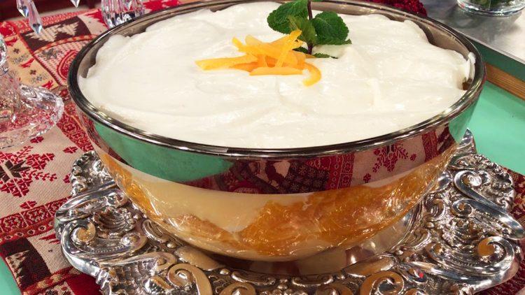 Trifle de Laranja – Culinária