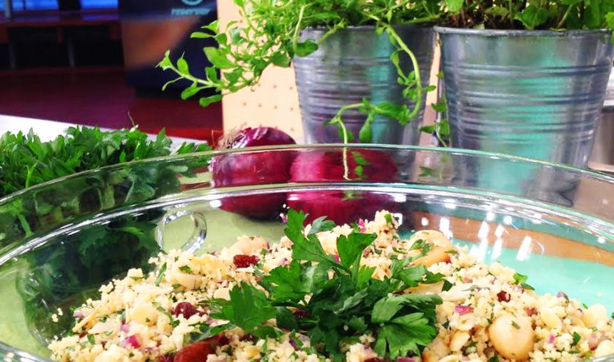Couscous de Frutos Secos - Culinária