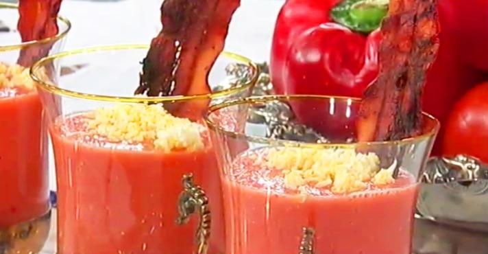 Sopa Fria de Tomate - Culinária
